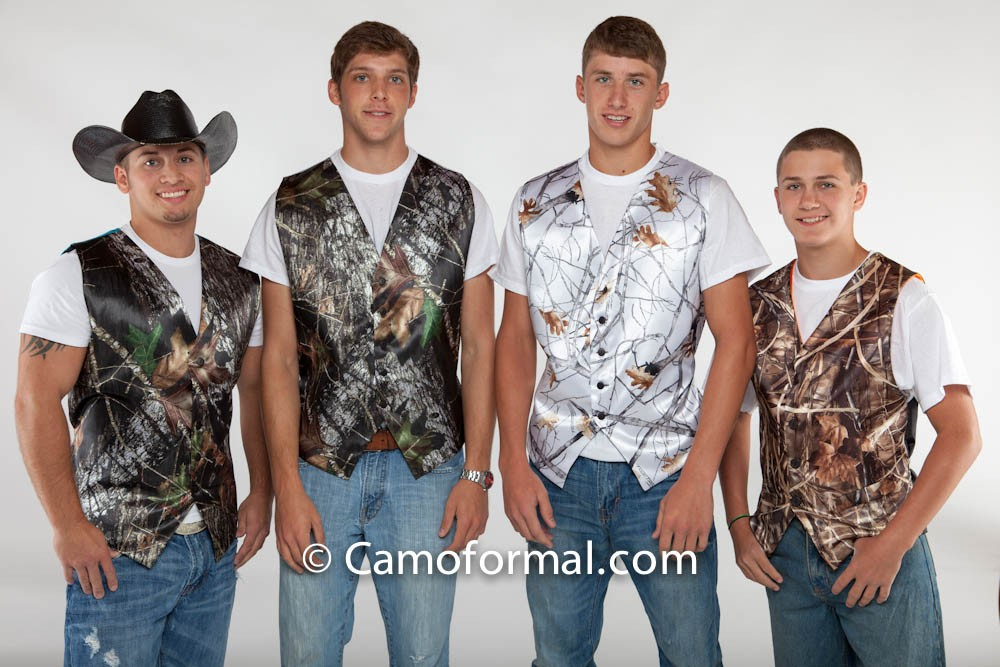 Guy Group Of Vests